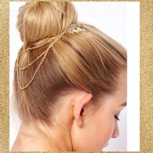 Accessories - 🔥Gold Boho Hair Accessory New